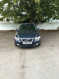 VOLVO V50 DRIVe, £0 road tax, high MPG,full volvo service history,excellent condition,all new tyres