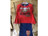 Brand new Arsenal pyjamas age 5-6