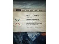 Apple MacBook Pro 13-Inch, Mid 2009, 8gb RAM, 500GB - £300