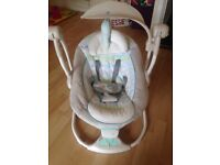 Ingenuity baby swing to seat