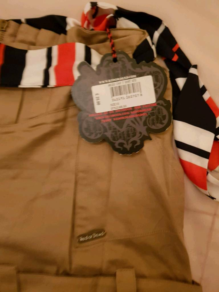 Red or dead shorts for sale size 10