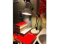 White Desk Lamp - Adjustable - Anglepoise Inspired
