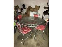 Dineing room table and chairs