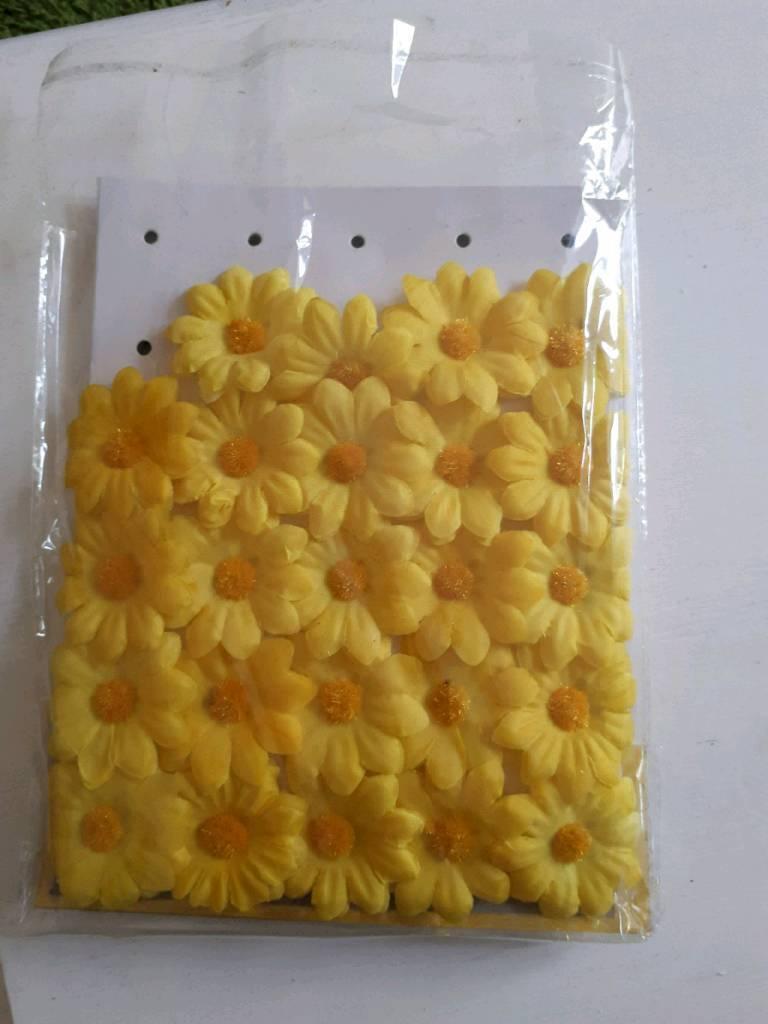 Craftart Yellow Fake Daisy Flowers In Adamsdown Cardiff Gumtree