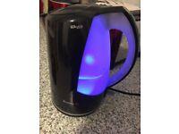 Black illuminated breville spectra kettle