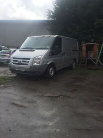 Ford transit 06 reg mot while sept 2017