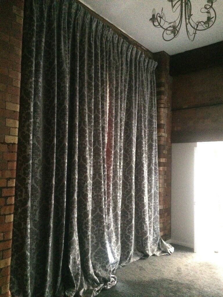 Extra Long Luxury Curtains Uk Musbury Custom Made Extra Thick Lining In Harbourside Bristol Gumtree