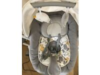 Joie Swivel Swing Baby Rocker - almost brand new and rarely used