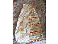 6-18month sleeping bag- summer 1 tog (Grobag) X2