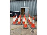 1m high traffic cones