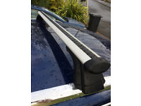Genuine Audi A4 roof bars in excellent condition.