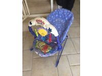 Fisher price kick and play baby bouncy bouncer chair