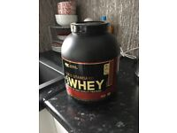 Gold standard whey protein peanut butter flavour