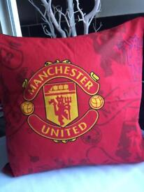 Manchester United Cushion Throw,Scatter,gift,memorabilia