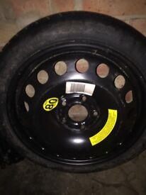 Vauxhall spare tyre
