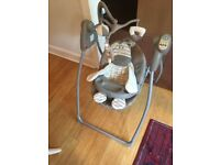 Graco hug and love baby swing seat