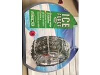 Ice force snow chains used once