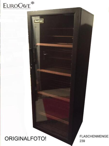 eurocave weinklimaschrank klavierlack ca 239. Black Bedroom Furniture Sets. Home Design Ideas