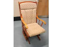 Dutailer Glider Rocking Nursing Chair