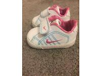 Baby Girl Nike trainers in size 00