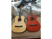 2 used guitars