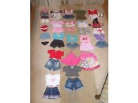 Build-a-Bear Clothes with shoes and wardrobe
