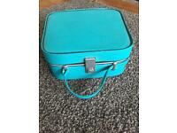 Vintage Green hand carry suitcase