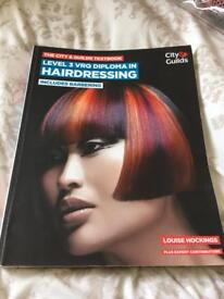 Hairdressing level 3 book city and guilds