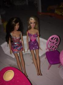 Barbie doll house accessories