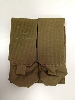 BLACKHAWK STRIKE  MODULAR ASSAULT SYSTEM 4 MAG POUCH 2x2 HOLDS 4 MAGS COYOTE NEW - Modular System Pouch