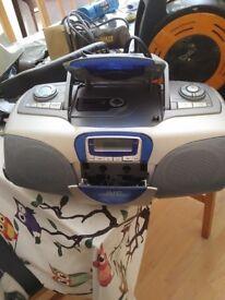 CD, Radio Cassette player
