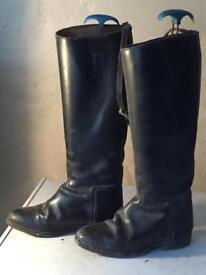 Long riding boots regent size 4