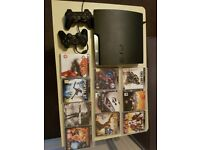 PlayStation 3 (150GB PS3) with Games Included