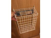 New Letter Box Cage Front Door Mail Post Catcher Pet Guard White Medium only £4