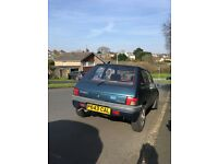 Peugeot 205 Auto 1.6 Late 1996 P reg, low miles, rare colour, 12 months MOT. Great car!