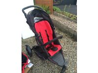 FAB PHIL AND TEDS DOUBLE BUGGY PUSHCHAIR