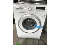 new Bosch washing machine
