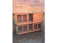 Bluebell Rabbit / Guinea Pig Hutch & Cover