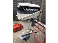 Johnson 5hp outboard engine