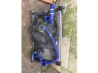 Vauxhall corsa vxr radiator and fan £100 no offers