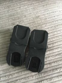 Maxi cosi car seat adapters