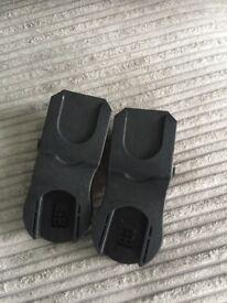 Maxi cosi car seat adapters