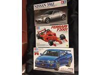 3x Tamiya Model Cars