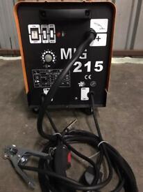 Mig Welder 215 amp