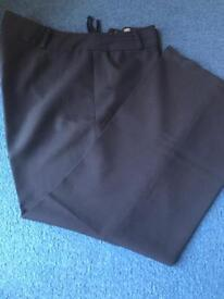 Size 16 black trousers