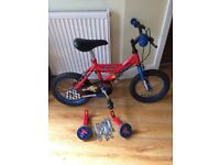 BOYS SILVERFOX CHAMPION BIKE 14 INCH WHEEL