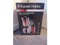 BRAND NEW Russell Hobbs 2 in 1 Jug Blender