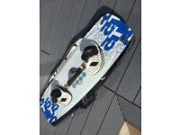 Nobile 555 kite board 2010 complete with (new) bag 134 x 41 excellent condition