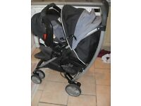 Graco Pram with new baby carry seat