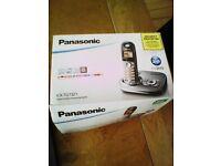 Panasonic KX-TG7321 3 cordless phones package